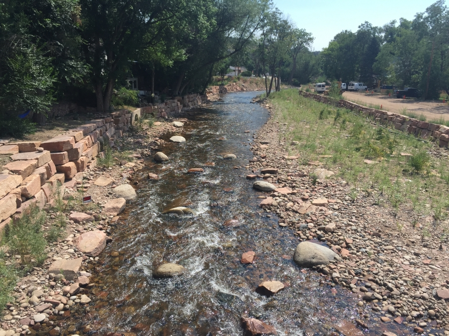 Saint Vrain Creek Channel Flood Recovery