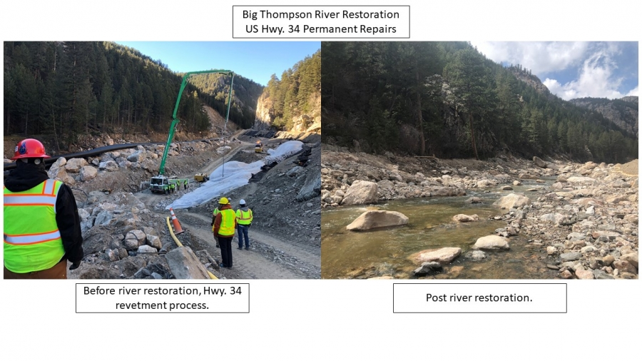 Big Thompson River US-34 Flood Recovery